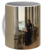 In The Belfry Of The Campanile Of St Marks Venice Henry Woods Coffee Mug