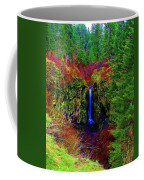 Indian Canyon Waterfall Coffee Mug