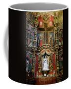 Interior Statue - San Xavier Mission - Tucson Arizona Coffee Mug