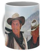 Jack Palance And Lee Marvin Monte Walsh Set Old Tucson Arizona 1969 Coffee Mug