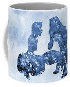 Jane And Tarzan-blue Coffee Mug