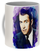 Jimmy Stewart, Vintage Movie Star Coffee Mug