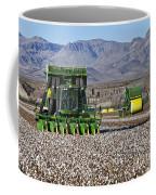 John Deere Cotton Pickers Harvesting Coffee Mug