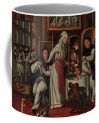 Kitchen In A Convent Coffee Mug