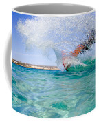 Kitesurfing Coffee Mug by Stelios Kleanthous