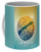 Lake Balaton 3d Little Planet 360-degree Sphere Panorama Coffee Mug