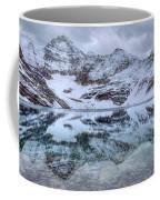 Lake Mcarthur Reflection Panoramic Coffee Mug