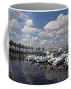 Lake Monroe At The Port Of Sanford Florida Coffee Mug