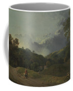 Landscape With Cottagers Coffee Mug