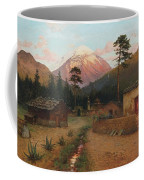 Landscape With Volcano Coffee Mug