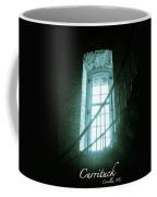 Light Through The Currituck Window - Text Coffee Mug