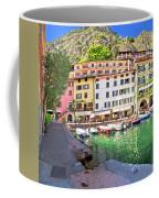 Limone Sul Garda Turquoise Harbor Panoramic View Coffee Mug