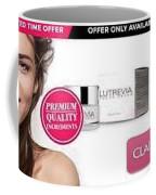 Lutrevia Cream Coffee Mug