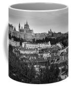 Madrid Panorama From Debod Lookout Madrid Spain Coffee Mug