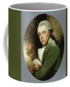 Man In A Green Coat Coffee Mug
