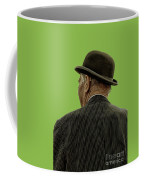 Man With A Bowler Hat Coffee Mug