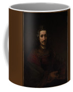 Man With A Magnifying Glass Coffee Mug