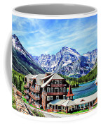 Many Glacier Hotel Coffee Mug