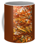 Maple Tree Foliage Coffee Mug