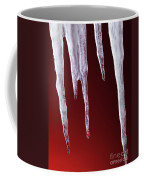 Melting Icicles Coffee Mug