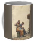 Mending The Nets Coffee Mug
