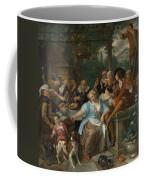 Merry Company On A Terrace Coffee Mug