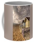 Mersea Island Beach Huts Coffee Mug