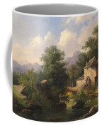 Mill With Angler Coffee Mug