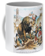 Monroe Doctrine: Cartoon Coffee Mug