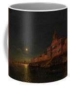 Moonlit Night On An Italian Lagoon Coffee Mug