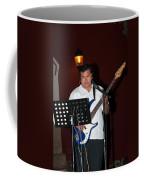 Musicians In The Park Candelaria In Valladolid Coffee Mug