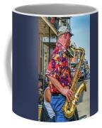New Orleans Jazz Sax  Coffee Mug