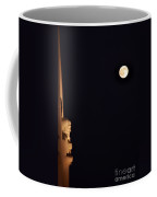 Night At Griffeth Observatory Coffee Mug