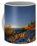 Northern Lights At Mount Pilchuck Coffee Mug