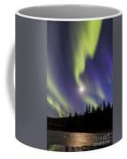 Northern Lights Thingvellir Coffee Mug