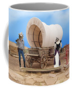 Old West Cats  Coffee Mug