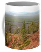 Oregon Landscape - View From Lava Butte Coffee Mug