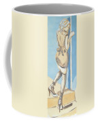 Painting Of A Young Woman Coffee Mug
