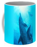Pair Of Spotted Dolphins Coffee Mug