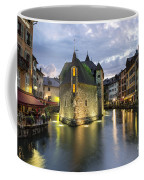 Palais De L'isle And Thiou River In Annecy Coffee Mug