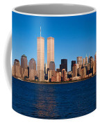 Panoramic View Of Lower Manhattan Coffee Mug