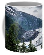 Panoramic View Of Mendenhall Glacier Juneau Alaska Coffee Mug