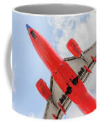 Passenger Jet Coming In For Landing  Coffee Mug