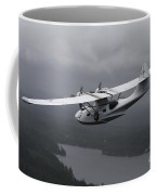 Pby Catalina Vintage Flying Boat Coffee Mug by Daniel Karlsson