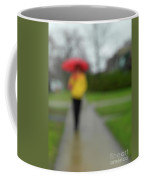 People In The Rain Coffee Mug
