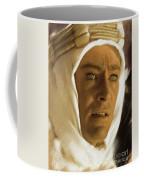 Peter O'toole As Lawrence Of Arabia Coffee Mug
