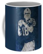 Peyton Manning Colts Coffee Mug
