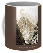 Pico Ruivo Mountain, Madeira, Portugal, C.1900 Coffee Mug