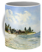 Hobie Cat At Point Of Rocks, Siesta Key Coffee Mug