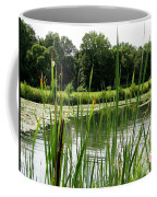 Pond At Beaver Island State Park In New York Coffee Mug